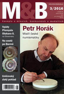 časopis Mince a bankovky č.3 rok 2016