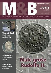 časopis Mince a bankovky č.2 rok 2012