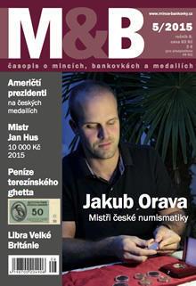 časopis Mince a bankovky č.5 rok 2015