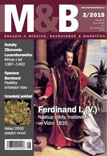 časopis Mince a bankovky č.2 rok 2015