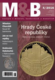 časopis Mince a bankovky č.4 rok 2016