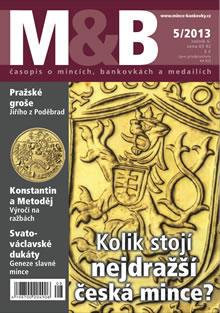 časopis Mince a bankovky č.5 rok 2013