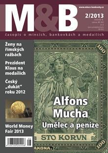 časopis Mince a bankovky č.2 rok 2013
