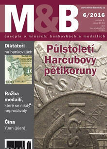 časopis Mince a bankovky č.6 rok 2016