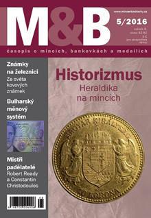 časopis Mince a bankovky č.5 rok 2016