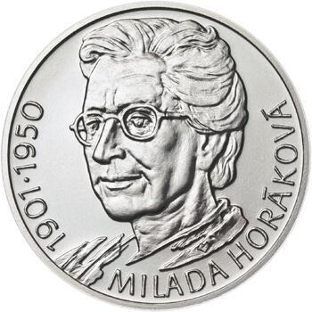 Milada Horáková - stříbro malá b.k. - 1