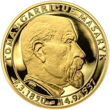 Proof - 70 let od úmrtí Tomáše Garrigue Masaryka - zlato Proof - 1