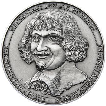 Patina - 400 let od narození Václava Hollara a 330 let od jeho úmrtí - 1