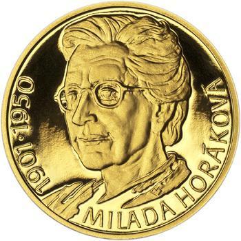 Milada Horáková - zlato 1/2 Oz Proof - 1