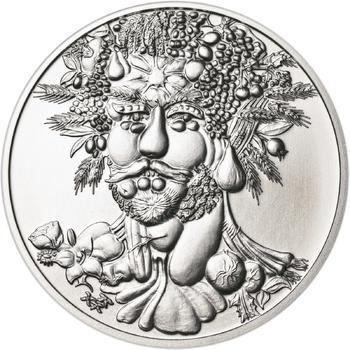 Giuseppe Arcimboldo - stříbro b.k. - 1