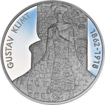 Gustav Klimt - stříbro Proof - 1