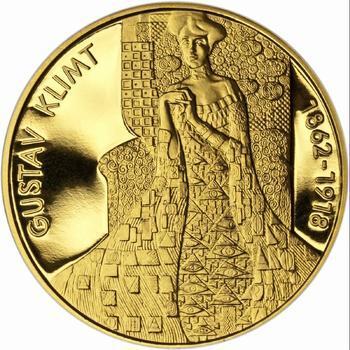 Gustav Klimt - zlato Proof - 1