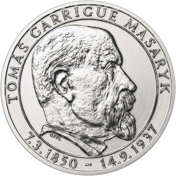 70 let od úmrtí Tomáše Garrigue Masaryka - stříbro b.k. - 1