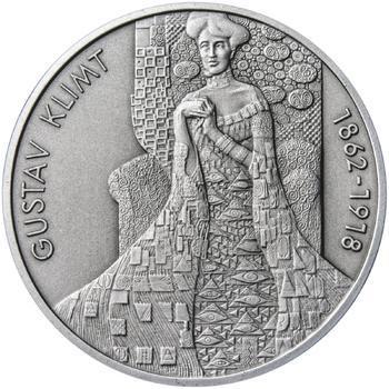 Gustav Klimt - stříbro patina - 1