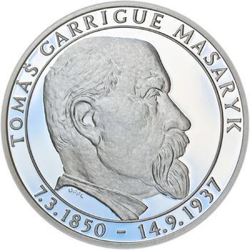 Proof - 70 let od úmrtí Tomáše Garrigue Masaryka - stříbro Proof - 1