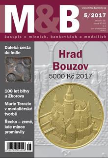 časopis Mince a bankovky č.5 rok 2017