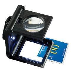 Kapesní lupa  se stojánkem FZ 5 LED