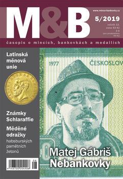 časopis Mince a bankovky č.5 rok 2019