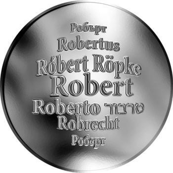 Česká jména - Robert - stříbrná medaile - 1