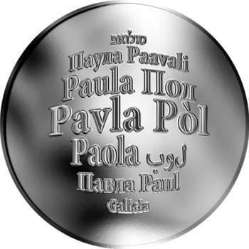 Česká jména - Pavla - stříbrná medaile - 1