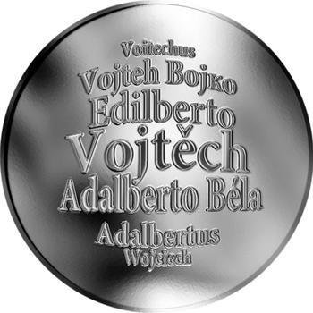 Česká jména - Vojtěch - stříbrná medaile - 1