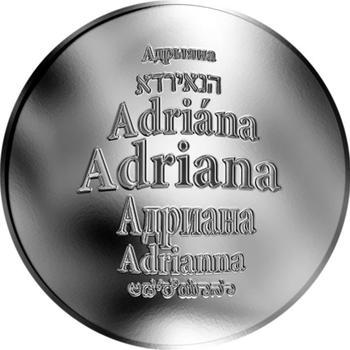 Česká jména - Adriana - stříbrná medaile - 1