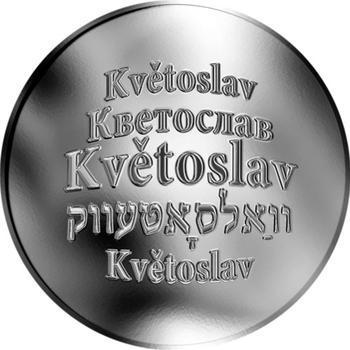 Česká jména - Květoslav - stříbrná medaile - 1