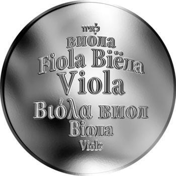 Česká jména - Viola - stříbrná medaile - 1
