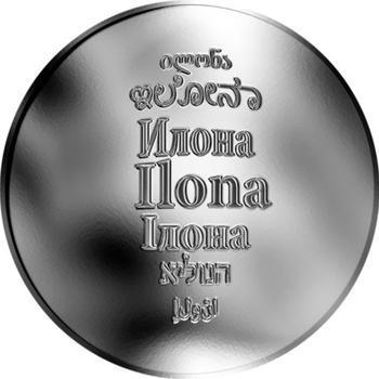 Česká jména - Ilona - stříbrná medaile - 1
