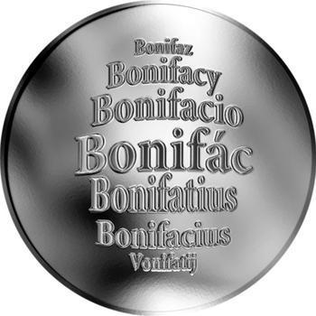Česká jména - Bonifác - stříbrná medaile - 1