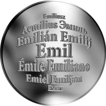 Česká jména - Emil - stříbrná medaile - 1