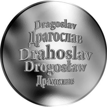 Česká jména - Drahoslav - stříbrná medaile - 1