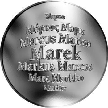 Česká jména - Marek - stříbrná medaile - 1