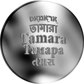 Česká jména - Tamara - stříbrná medaile - 1