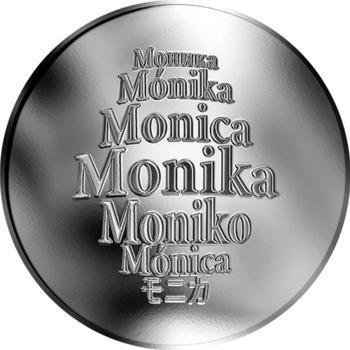 Česká jména - Monika - stříbrná medaile - 1