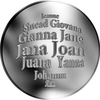 Česká jména - Jana - stříbrná medaile - 1