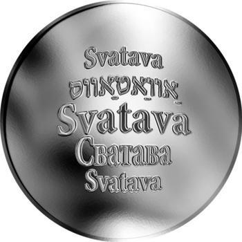 Česká jména - Svatava - stříbrná medaile - 1