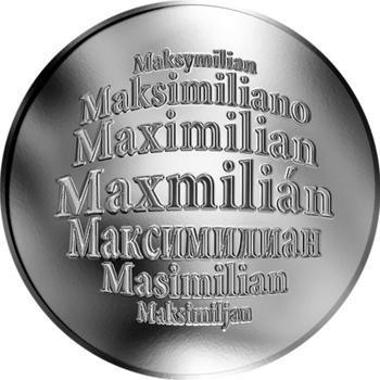Česká jména - Maxmilián - stříbrná medaile - 1