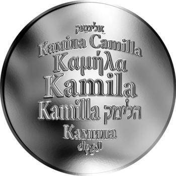 Česká jména - Kamila - stříbrná medaile - 1