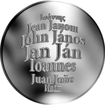 Česká jména - Jan - stříbrná medaile - 1