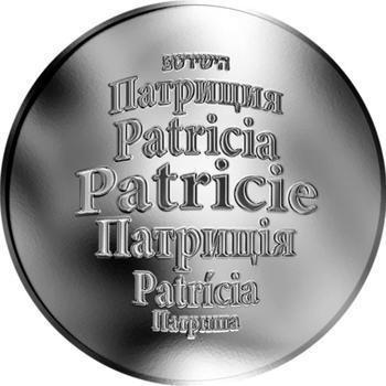 Česká jména - Patricie - stříbrná medaile - 1