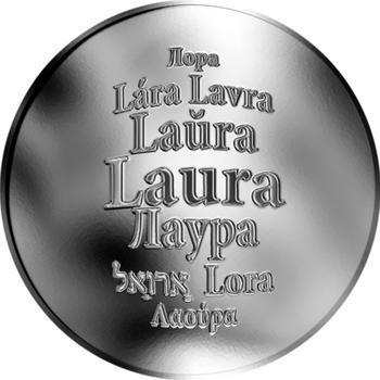 Česká jména - Laura - stříbrná medaile - 1