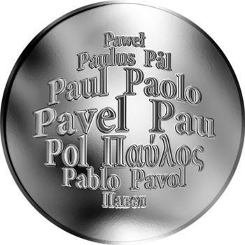 Česká jména - Pavel - stříbrná medaile - 1