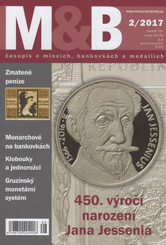 časopis Mince a bankovky č.2 rok 2017