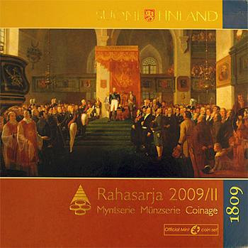 "Oběhové mince 2009/II Unc. Finsko ""The Porvoo Diet"" - 1"