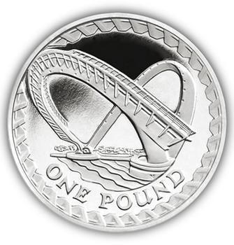 2007 - 1 Pound Millennium Bridge Proof - 1