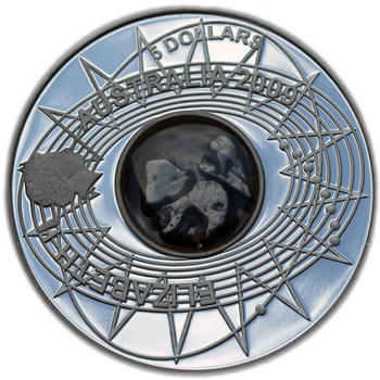 2009 Int.Year of Astronomy - Meteorite Ag Proof - 1