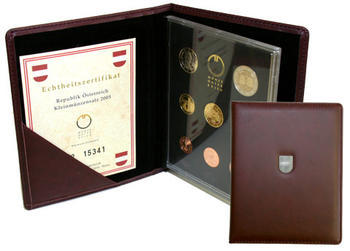 Oběhové mince 2008 Proof Rakousko