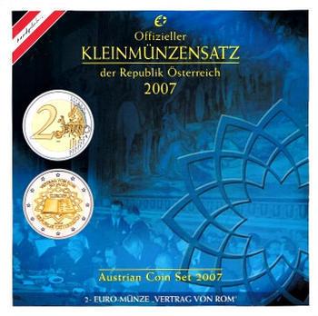 Oběhové mince 2007 Unc. Rakousko - 1