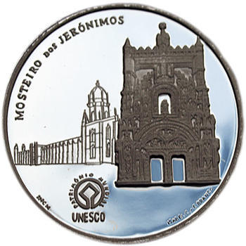 2009 UNESCO World Heritage - Monastery of Jerónimos Ag Proof - 1
